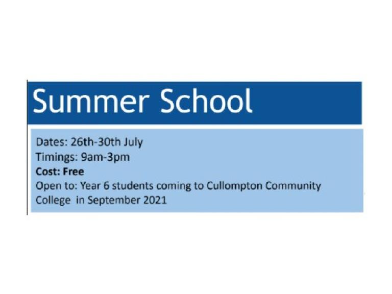 Summer school - Apply now